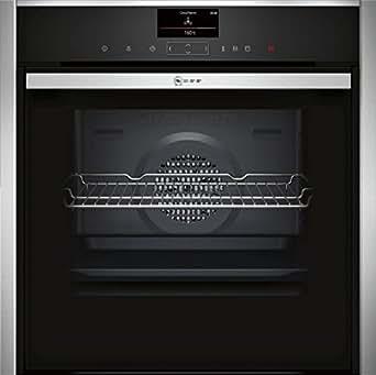B57VS22N0 NEFF Four VarioSteam 13 modes de cuisson, Pyrolyse, Bake & Roast Assist, 18 programmes auto, éclairage LED A+