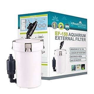 All Pond Solutions EF-150 Aquarium External Filter, 150 L