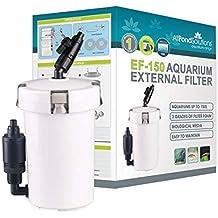 All Pond Solutions ef-150 Filtro Externo con Masa filtrante para Acuario 400 ...
