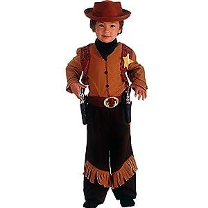 Carnival Juguetes 65816 - traje de vaquero con el sombrero, 4-5 años