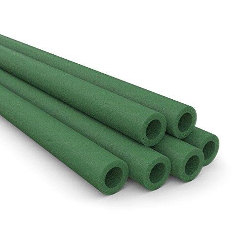 Ampel 24 - Lot de 6 mousses de Protection pour piquets de Trampolines / 2 mousses nécessaires par piquets/Vert