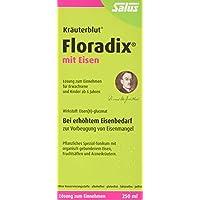 Floradix mit Eisen, 250 ml - Alternative zu Eisentabletten - Pflanzliches Spezial-Tonikum Schwangere & Kinder... preisvergleich bei billige-tabletten.eu