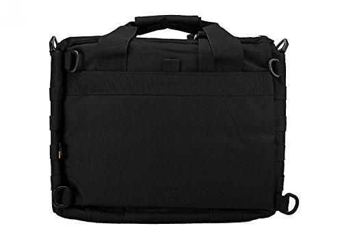 """Jomotala Herren Umhängetaschen Molle Outdoor Sport Rucksack 15 """"Laptop Kamera Mochila Militärische Taktische Computer Tasche Black"""