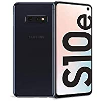 "Samsung Galaxy S10e Display 5.8"", 128 GB Espandibili, RAM 6 GB, Batteria 3100 mAh, 4G, Dual SIM Smartphone, Android 9 Pie [Versione Italiana] 2019, Nero (Prism Black)"