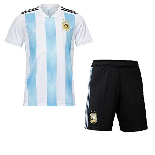 HJJhahahahaha Benutzerdefinierte 2018 WM-Fußball-Trikot mit Beliebigen Namen und Nummer für Kinder Jugend Fußball Sport Team T-Shirt für Männer