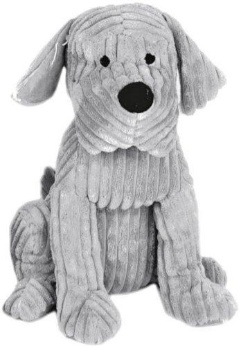 take-me-home-cute-dog-door-stop-chunky-cord-ribbed-dog-28cm-grey