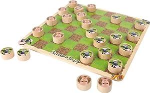 Pequeño Diseño Pie (smb5w) - 5870 - Empresa Juego - Shaun The Sheep - Damas Juego