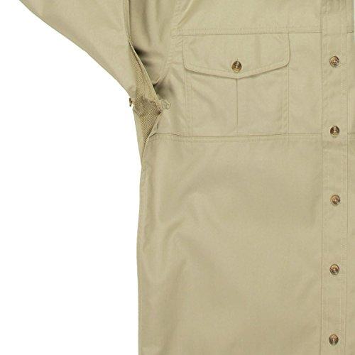 Fjällräven Herren Singi Trekking Shirt Ls Hemd, Dunkelgrau, Einheitsgröße Light Khaki (236)