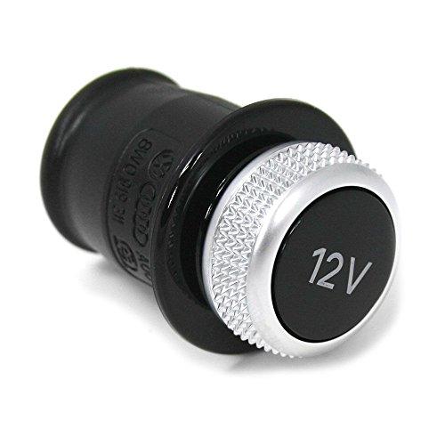 8W0919311 Zigarettenanzünder Attrappe silber schwarz
