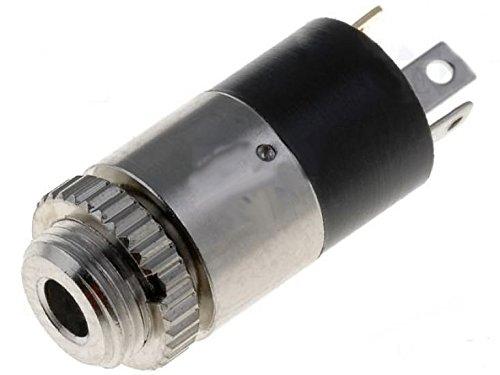 Preisvergleich Produktbild 3,5mm Klinke Stereo Buchse Einbau mit Lötanschluss