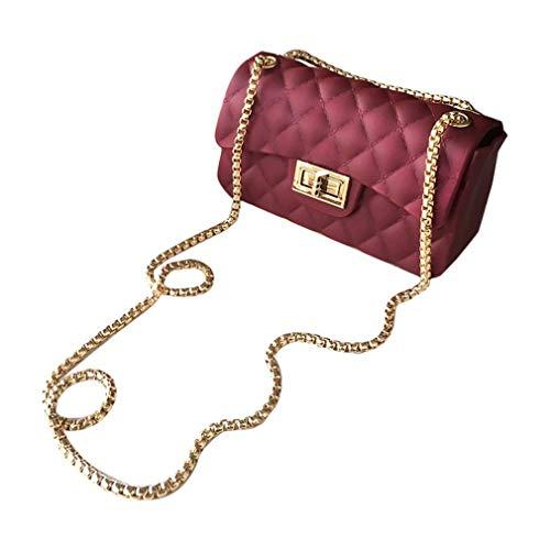 4ea9911142 FDBF Fashion Rhombus Plaids Women Messenger Bag with Adjustable Single  Strap   Hasp