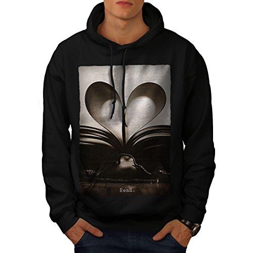r Lesen Jahrgang Männer Kapuzenpullover Lernen Beiläufiges mit Kapuze Sweatshirt ()