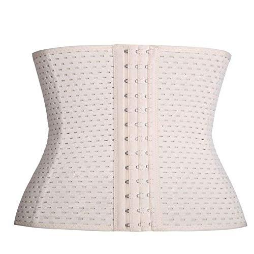 CHENXIAOJUN Rückenstabilisator Taille Rückenstütze Frauen Training Former-Gurt-Frauen Postpartum Abnehmen Weight Loss-Korsett-Körper-Former-Gurt-Bodysuit rückenbandage (Color : Beige, Size : XL) -