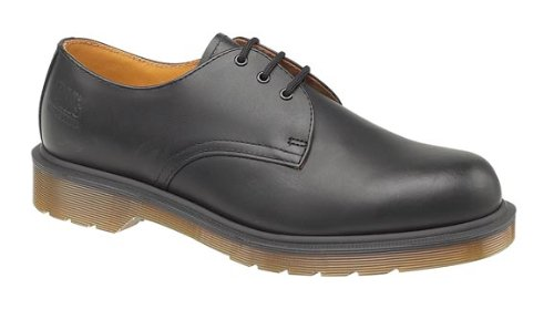 Dr. Martens Mens Lace Up Non Safety Leather Shoes B8249 Black