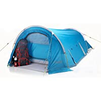 COLUMBUS Alpine Tente de camping Bleu Unique