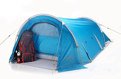 COLUMBUS Alpine Tente de Camping Mixte Adulte, Bleu, Unique