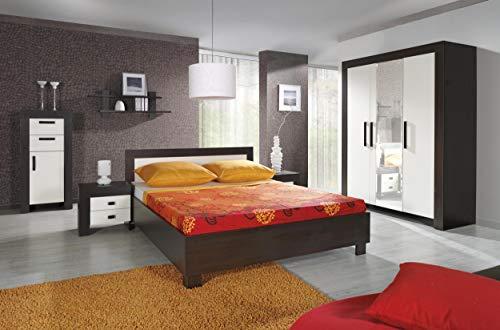 Justyou cezar camera da letto completa camera matrimoniale colore: milano crema