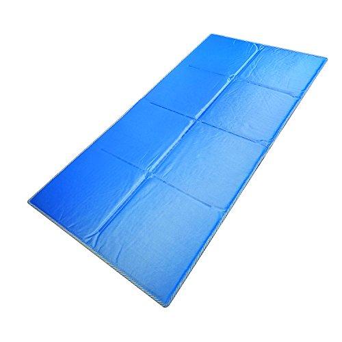 GENERAL ARMOR Gel kühlende Matratzenauflage 70×140cm,Kühlmatte/Kühlkissen/Kühlpad zur...