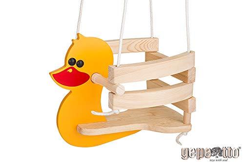 Gepetto HP00 Kinderschaukel Holzschaukel Schaukel für Kinder fürs Zimmer KH00, gelb
