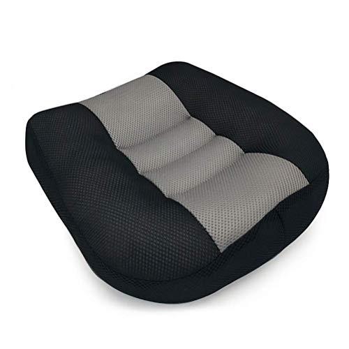 HYYQG Autositz Stützkissen, Sitzmatte für Ischias Relief Entspannen Sie Sich Tröster Kissen mit Griff Sitzpolster Verbessern Sie die Körperhaltung zu Hause, in Bürostühlen, im Rollstuhl, B - Rosa Und Schwarz Tröster