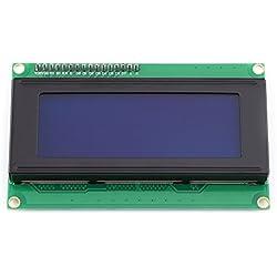 5V I2C IIC Módulo de Pantalla LCD Módulo de Pantalla Azul con Carácter Blanco de Retroiluminación para Arduino