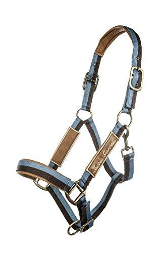 HKM 77176021.0618 Halfter -Roma- Pony, rauchblau/braun