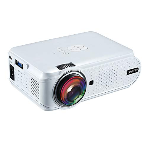 JYL Mini-Projektor, Full HD 1080P und 180