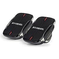 Les chaussures de survol comportent un moteur de 250 W dans chaque roue qui peut parcourir jusqu'à 10 km de distance à une vitesse maximale de 12 km / h en pleine charge. Les repose-pieds sont antidérapants et peuvent supporter un poids maximum de 13...
