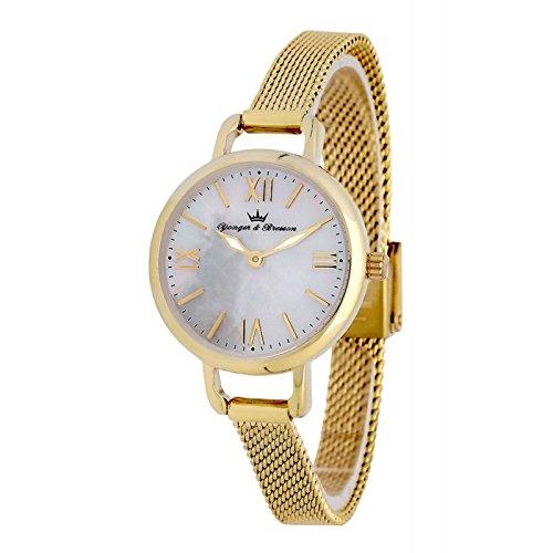 Reloj Yonger & Bresson Mujer Nácar blanca–DMP 051/BM–Idea regalo Noel