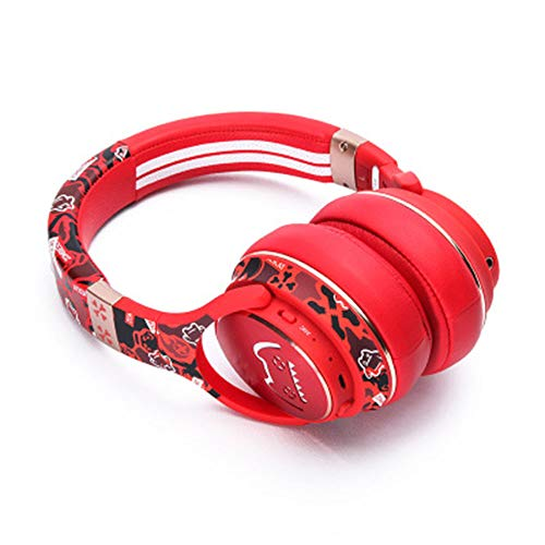ZSH Kitty Styling Headset Bluetooth Headset echte drahtlose laufqualität für Android ios universal drahtlose Bluetooth Headset,Red -