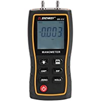 Perfect-Prime WD9819 Pantalla LCD digital CFM//CMM Anemometro termico Termometro infrarrojo Viento de flujo de aire