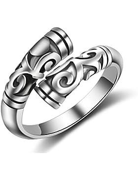 Boowhol Paar Ringe 925 Sterling