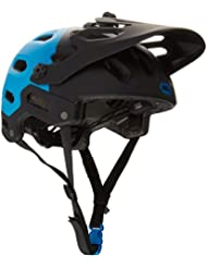 Bell Super 2 - Casco MTB - azul/negro Contorno de la cabeza 52-56 cm 2016