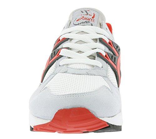 Asics Gel-Kayano Trainer (weiß / rot) Weiß