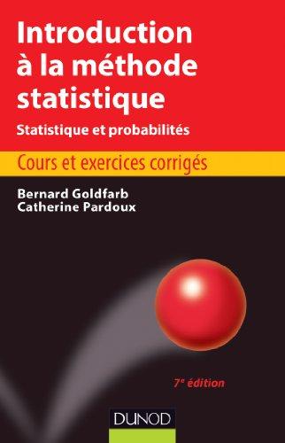Introduction à la méthode statistique - 7e édition
