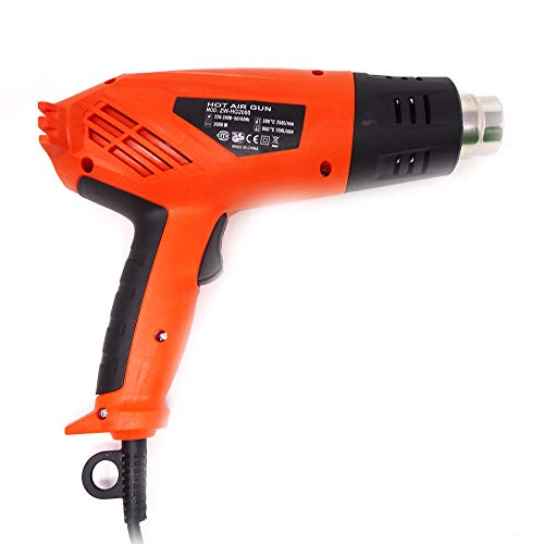 Heißluftpistole 2000 W 600 ° für selbstgemachte Reparaturen elektronisch
