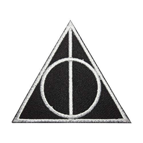 Echt Empire Harry Potter die Heiligtümer des Todes Eisen auf Patch Nähen auf Badge Fancy Kleid Kostüm T Shirt Tasche Jacke Badge