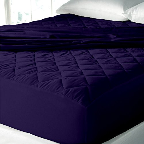 """Water Resistant & Dustproof Mattress Protector King Size - 78""""X72""""-For King Size Mattress-NavyBlue-By Cloth Fusion"""