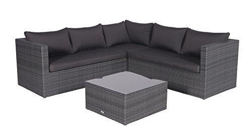 Garden Impressions 03660GY Lounge Set, Earl Grau, 211 x 211 x 64 cm