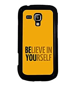 ifasho Designer Phone Back Case Cover Samsung Galaxy S Duos S7562 ( Colorful Pattern Design )