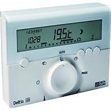 Delta Dore DEL6050416 - Termostato electrónico programable (con cables)