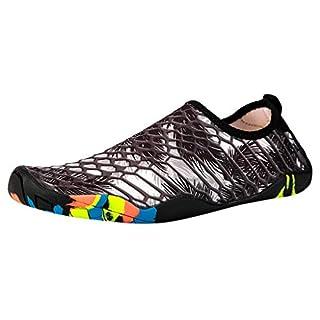 SANFASHION Herren Damen Unisex Paar Strandschuhe Schwimmen Wasser Schuhe Barefoot Quick Dry Aqua Schuhe