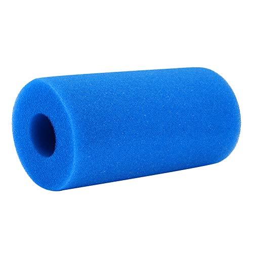 feeilty Aktivkohleschwamm, Schwimmbadfilter Schaum Schwamm Wiederverwendbare Whirlpool Filterpatrone für Intex Typ H