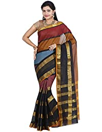 CLASSICATE From the house of Classicate From The House Of The Chennai Silks - Dharwad Cotton Saree - Multicolor - (CCRISC787)