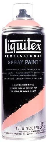Liquitex Professional Spray Paint 400 ml, Cadmium Red Light Hue