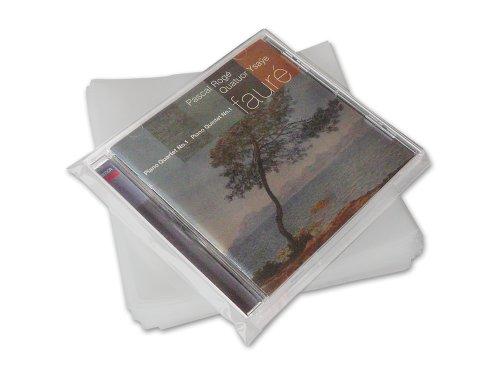 CD Schutzhüllen Leerkassette Protected (100 Stück)