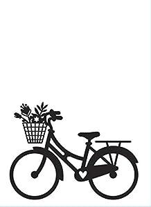 Darice Carpeta de Estampaciã³n A6, Plantilla Bicicleta Estampación