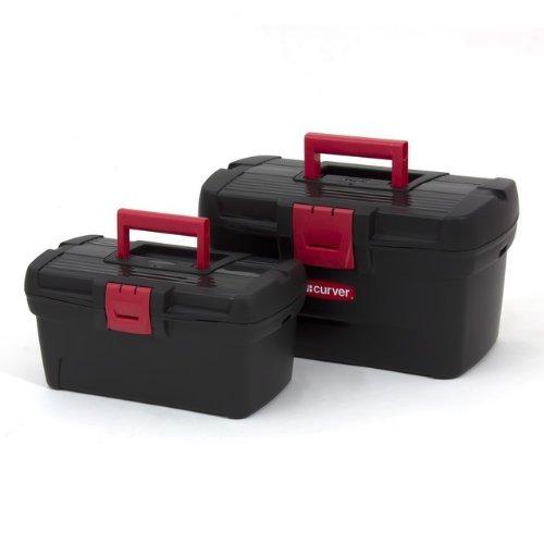 Set zwei Werkzeugkästen 13\'\' + 16\'\' Werkzeugkoffer Profi Herobox Werkstatt Organizer