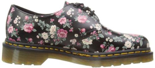 Dr Martens  1461 Rose, Chaussures de ville à lacets pour femme Noir noir Noir - noir