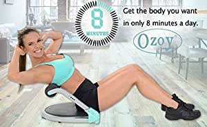 Ozoy Core Strength Training Weight Loss Evolutionary Abdominal Machine Portable Oblique Exercises Pro Abs Exercise Workout Equipment for Home Gym Fitness Kit Six Pack Ab Exerciser Machine